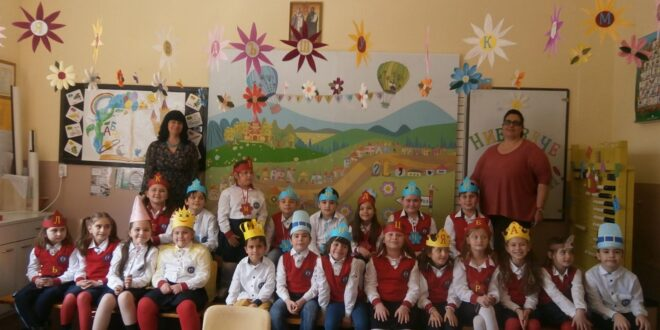 Малките слънчица, от I в клас, празнуват! Вече са грамотни!